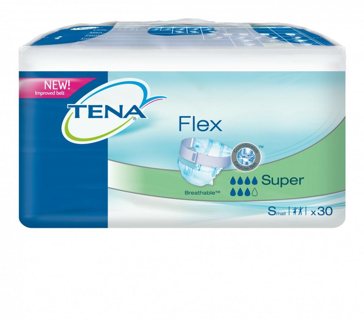 Подгузники для взрослых TENA FLEX SUPER small (Тена Флекс Супер)